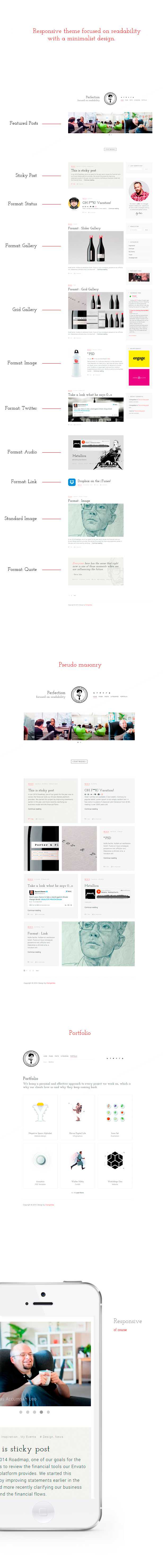 BLG - Minimalistic Template Focused on Readability